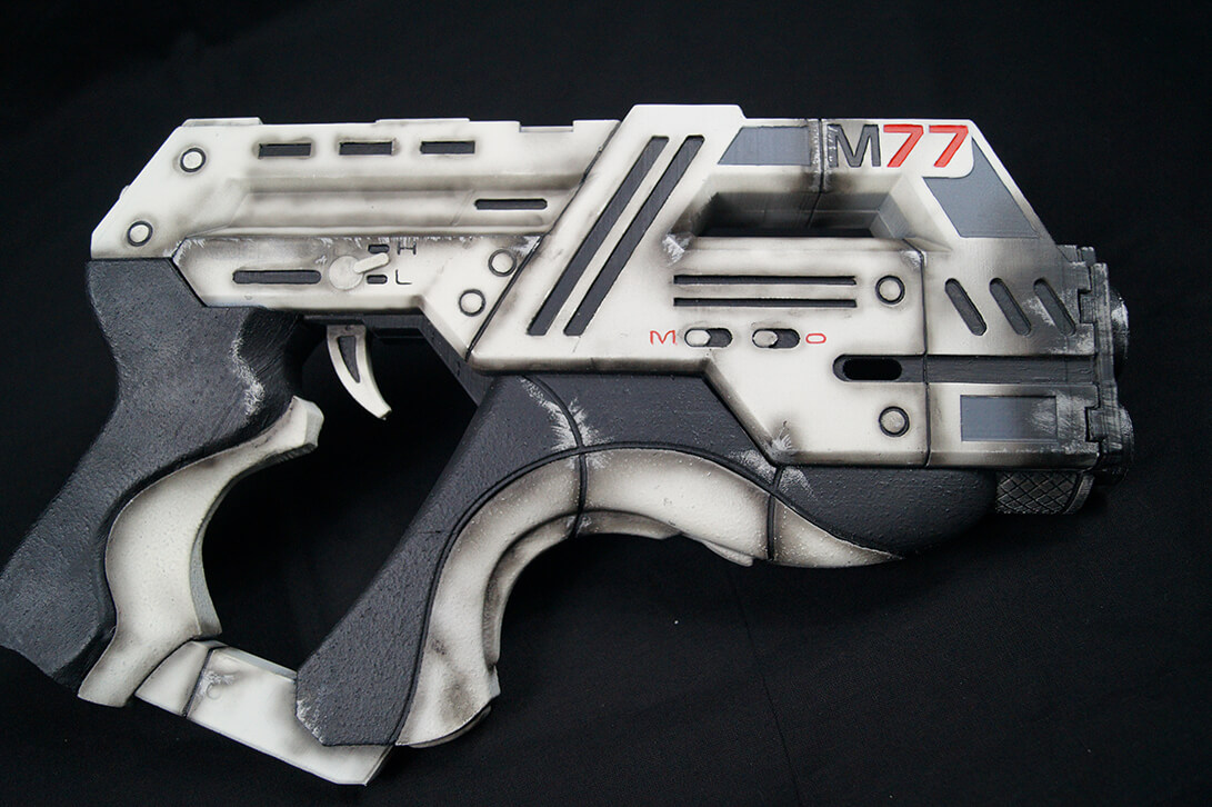 M77 3D Print with Finish