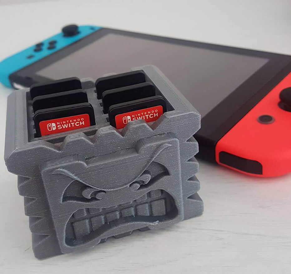 3D Printed Thwomp Switch Cartridge Holder